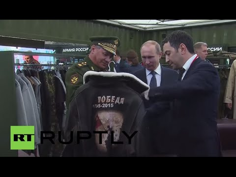 Russia: Putin visits ARMY-2015, the federation's biggest ever arms expo