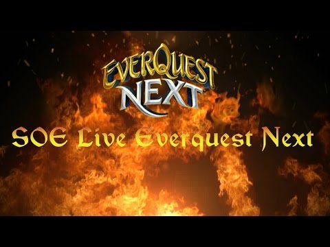SOE Live 2014 – Everquest Next Combat and PvP