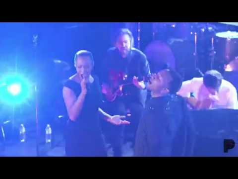 "Natalie Imani and John Legend perform ""Darkness and Light"""