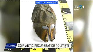 Coif antic recuperat de polițiști