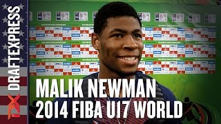 2014 Malik Newman Interview - DraftExpress - FIBA U17 World Championships
