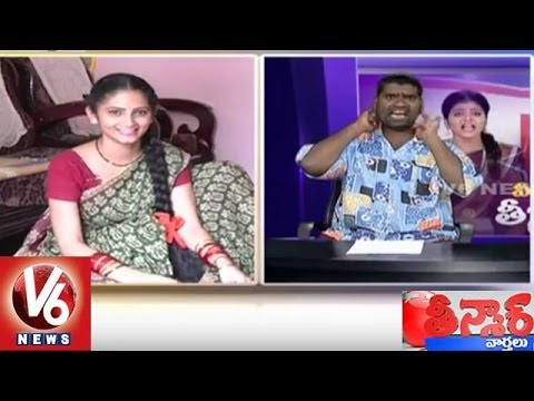Bithiri-Sathi-Funny-Conversation-With-Sujatha-Over-Vegetable-Diet-Teenmaar-News-06-03-2016