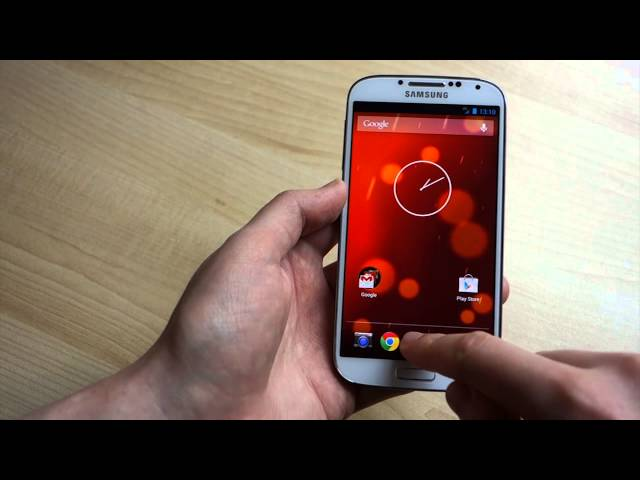 Hands-on with leaked Android 4.3 ROM for the Google edition Galaxy S4