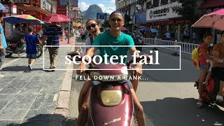 WE CRASHED A SCOOTER IN CHINA by Tamsin Danielle