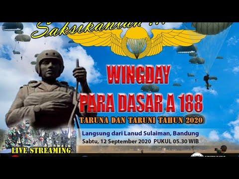 Wingday Para Dasar A-188 Taruna dan Taruni AAU Tahun 2020
