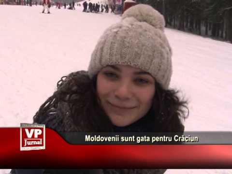 Moldovenii sunt gata pentru Crăciun