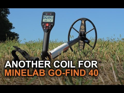 Minelab Go Find 40 with another coil