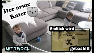 Der arme Kater/Basteln/erste mal häkeln/Dailyvlog#6 Mittwoch/Family VLOG/Mel´s Kanal