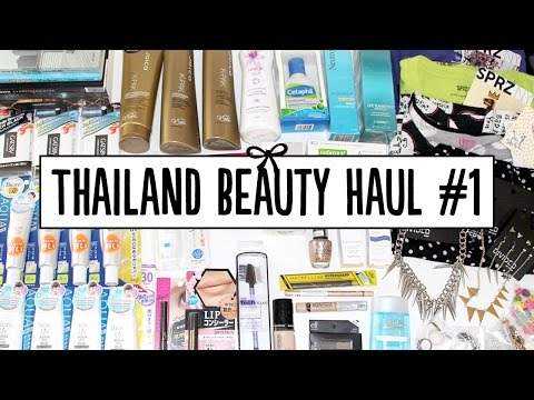 HUGE Thailand Beauty Haul – Eveandboy, Beauty Buffet & Central Beauty Hall | Pippopunkie