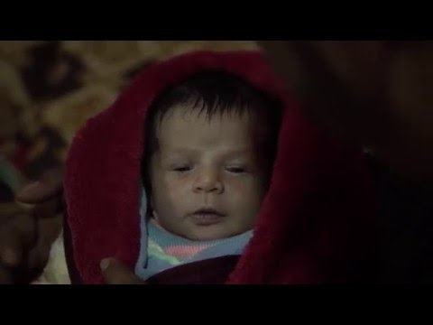 Lebanon: Newborn Boy Spends First Winter In A Warehouse