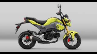 9. 2018 Honda Grom |Specs & Features