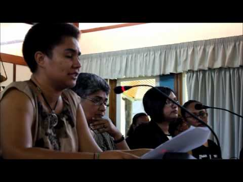 FWCC and FWRM presentation to Fiji Constitution Commission – Part 2