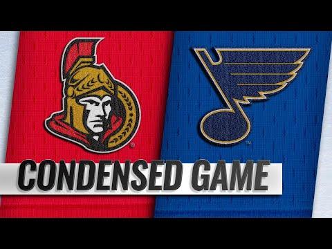 01/19/19 Condensed Game: Senators @ Blues