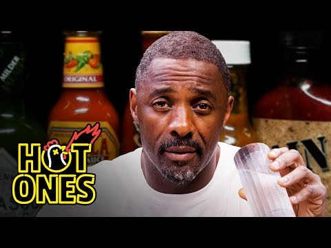 Idris Elba Wants to Fight While Eating Spicy Wings   Hot Ones