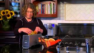 2 Slice Extruded Aluminum Long-Slot Toaster Demo Video Icon
