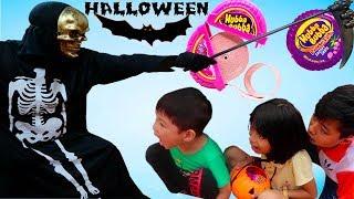 ABC bé Bi Halloween thần chết thích 100% kẹo Hubba Bubba