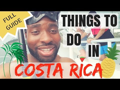 Things To Do In Costa Rica [FULL GUIDE]