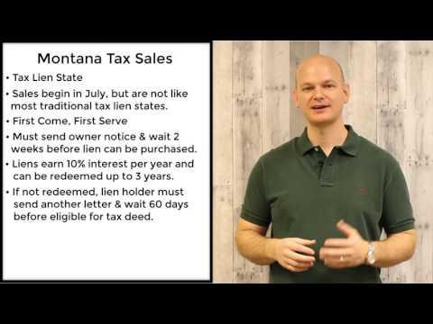 Montana Tax Sales - Tax Liens