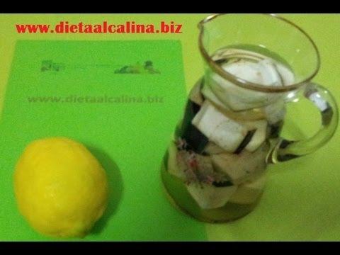 Como Fazer Agua de Berinjela com Limão para Emagrecer (Receita Para Perder Peso)