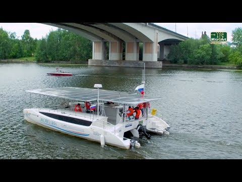 Путешествие на солнечном катамаране Санкт-Петербург - Астрахань. 5000 км за счёт солнца!