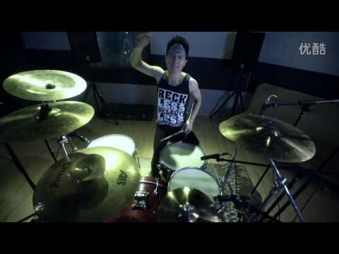 The Falling(堕天) — Bass & Drums Playthrough — HALF HEAVEN X HALF HELL - Jason & Xiao 繆偉 邵笑