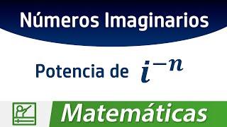 Potencias negativas en Números Imaginarios, usando el teorema de la división euclidiana. Redes Sociales: ◢ Twitter @UECenter: http://www.twitter.com/UECenter◢ Página de Facebook:http://www.facebook.com/UleadEstudioCenter◢ Página web: http://www.DAIZcorp.com◉ Video también disponible en: http://www.DAIZcorp.com/_______________________UECenter de DAIZcorp.
