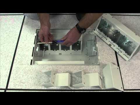 Evolution Series Efb8 Floor Box Module Efb8m By Legrand