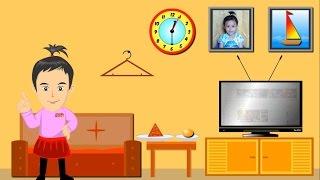 Belajar Mengenal Bentuk dalam Kehidupan Sehari-hari, Learning Shapes Video Cartoon
