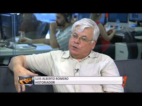 Luis Alberto Romero en InfobaeTV – 20/12/2013