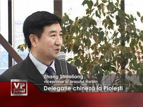 Delegaţie chineză la Ploieşti