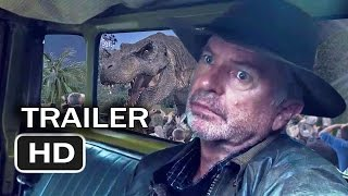 The biggest movie of all time is about to get... Even Bigger.Hold on to your butts as Jurassic World returns in this brand new teaser trailer.  What do you do when people won't come to the dinosaurs?  You bring the dinosaurs... to them.Like all of the trailers on this channel, this is a fan creation.  That means it's not real.  I would love to see Sam Neill return for the new movie.