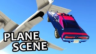 Nonton GTA V - Fast and Furious 7 Plane Scene Film Subtitle Indonesia Streaming Movie Download