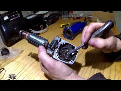 Болгарка на батарейках своими руками