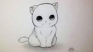 Chats Kawaii Dessin
