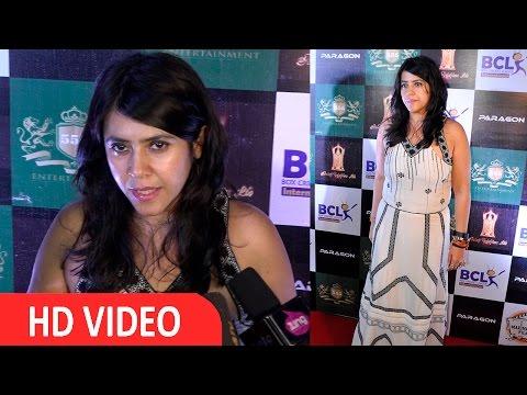 Ekta Kapoor At Announcement BCL Goes International