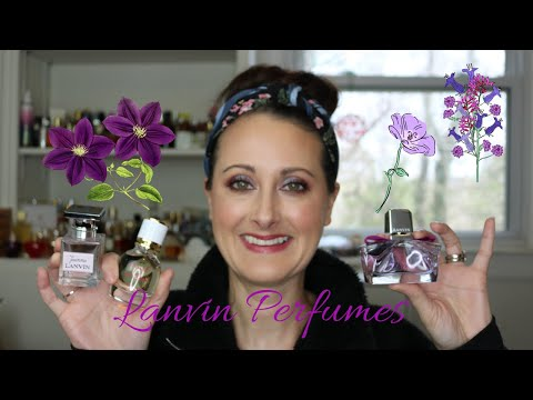 The Lanvin Perfumes That I Have In My Collection || Best Easy Reach Fragrances