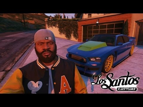 GTA 5 Online - Franklin's Car : Bravado Buffalo S - Part Of The I'm Not A Hipster Update