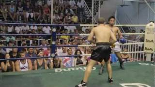 Rob Hill – Pro Boxing Bout (Thailand) 18th Aug 2011