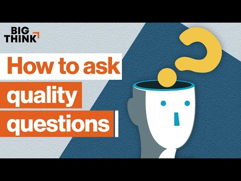 The art of asking the right questions | Tim Ferriss, Warren Berger, Hope Jahren & more | Big Think