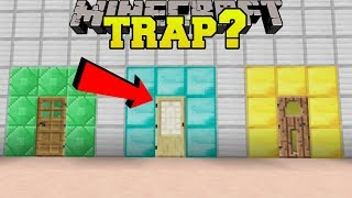 Minecraft: WHICH DOOR IS A TRAP?!? - CRACK THE FAKES - Custom Map [1]