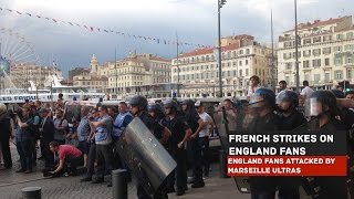 Marseille France  city images : Marseille Ultras' Unprovoked Attack on England Fans   Euro 2016 France