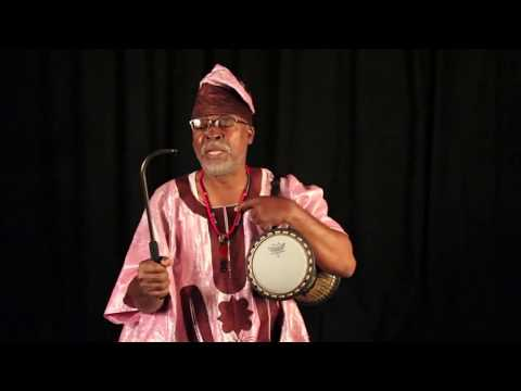 For Beginners: How To Play The Kànàgó- The Yorùbá  Talking Drum