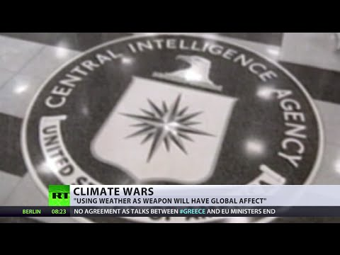 Weather weapon? CIA's 'pursuit for new power'
