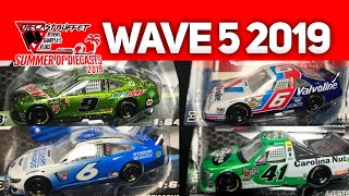 6. WAVE 5 IS HERE!!! BRAND NEW TRUCK, JOHNSON LIQUID COLOR!! (2019 Nascar Authentics Wave 5 Review)