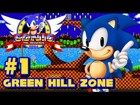 Sega - This is my 1080p HD Let's Play of Sonic the Hedgehog for the Sega Genesis! This is part 1 and in this vid we start off Green Hill Zone and get two Chaos Emer...