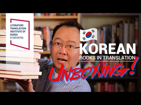 2020 Korean Books in Translation Unboxing