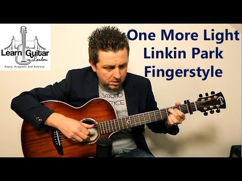 One More Light – Beginners Guitar Lesson – Linkin Park – Fingerstyle – Drue James