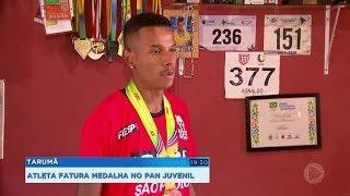 Atleta de Tarumã conquista medalha no pan-americano juvenil na Costa Rica