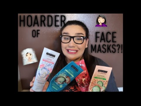 MY FREEMAN FACE MASK COLLECTION!   OMGbina