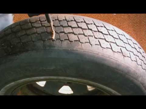 Video How to fix a flat tire with a tire plug kit ( tire repair kit ) in this video download in MP3, 3GP, MP4, WEBM, AVI, FLV January 2017